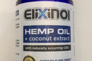 Hemp Oil Dietary Supplement