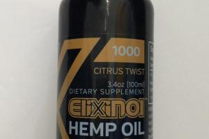 Citrus Twist Hemp Oil Dietary Supplement