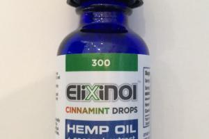 Hemp Oil Cinnamint Drops Dietary Supplement