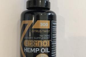 Citrus Twist Hemp Oil Dietary Supplement