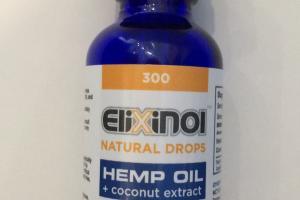 Hemp Oil + Coconut Extract Dietary Supplement