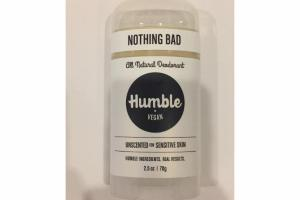ALL NATURAL DEODORANT, UNSCENTED