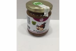 HAZELNUT COCOA SPREAD WITH HAZELNUT GRAINS