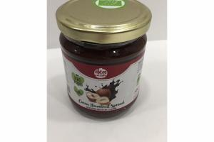 COCOA HAZELNUT SPREAD WITH DARK CHOCOLATE