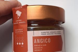 Angico Brazilian Acacia Organic Honey