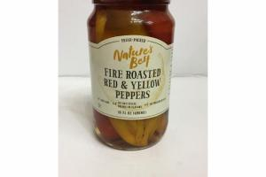 FIRE ROASTED RED & YELLOW PEPPERS