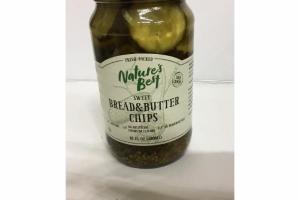 SWEET BREAD & BUTTER CHIPS