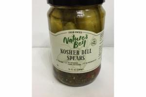 KOSHER DILL SPEARS