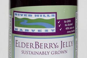 100% PURE PREMIUM ELDERBERRY JELLY JUICE