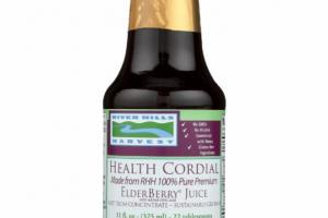 HEALTH CORDIAL 100% PURE PREMIUM ELDERBERRY JUICE