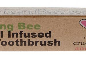 Brushing Bee Charcoal Infused Bamboo Toothbrush