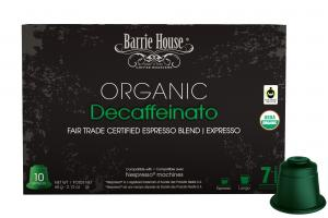 Nespresso Machines Organic Decaffeinato Espresso Blend