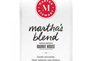 MARTHA'S BLEND GROUND DECAF COFFEE