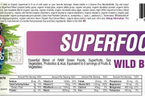 Wild Berry Superfood Dietary Supplement