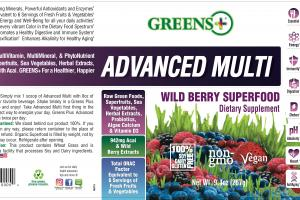 Advanced Multi Wild Berry Superfood Dietary Supplement