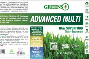 Advanced Multi Raw Superfood Dietary Supplement