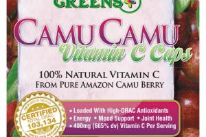 CAMU CAMU VITAMIN C CAPS DIETARY SUPPLEMENT VEGGIE CAPSULES