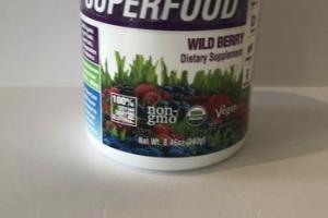 SUPERFOOD DIETARY SUPPLEMENT, WILD BERRY