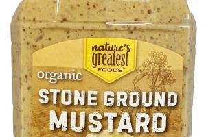 ORGANIC STONE GROUND MUSTARD