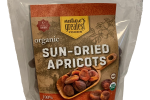 ORGANIC SUN - DRIED APRICOTS