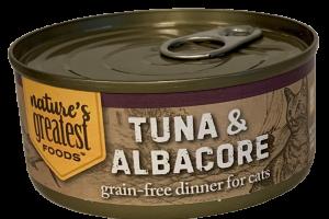GRAIN-FREE TUNA & ALBACORE DINNER FOR CATS