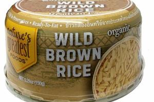 ORGANIC WILD BROWN RICE