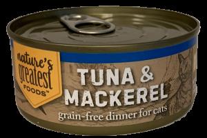GRAIN-FREE TUNA & MACKEREL DINNER FOR CATS