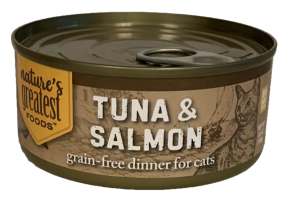 TUNA & SALMON GRAIN-FREE DINNER FOR CATS