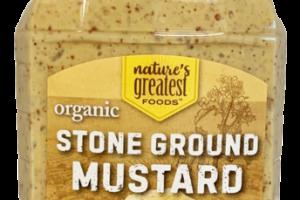 STONE GROUND MUSTARD