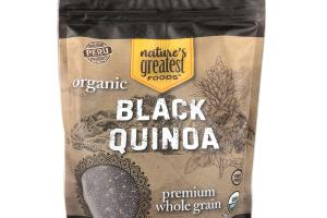 ORGANIC PREMIUM WHOLE GRAIN BLACK QUINOA