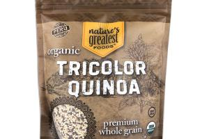 ORGANIC PREMIUM WHOLE GRAIN TRICOLOR QUINOA