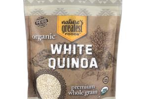 ORGANIC PREMIUM WHOLE GRAIN WHITE QUINOA