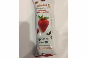 BERRIES + PEANUT BUTTER PLANT-BASED FOOD BAR