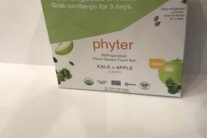 KALE + APPLE PLANT-BASED REFRIGERATED FOOD BAR