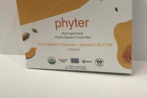 BUTTERNUT SQUASH + PEANUT BUTTER REFRIGERATED PLANT-BASED FOOD BAR