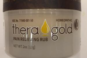 Pain Relieving Rub