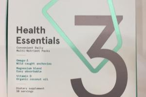 O3 Health Essentials Convenient Daily Multi-nutrient Packs Dietary Supplement
