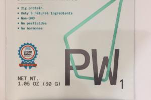 Pasture Raised Whey Protein Powder