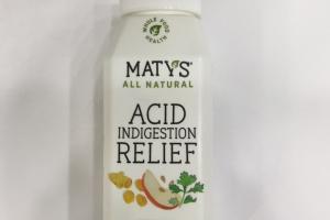 Acid Indigestion Relief Dietary Supplement
