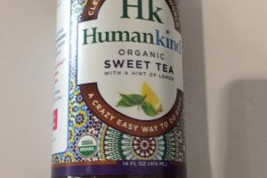 Organic Sweet Tea With Hint Of Lemon