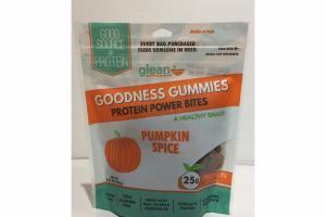 PUMPKIN SPICE GOODNESS GUMMIES PROTEIN POWER BITES