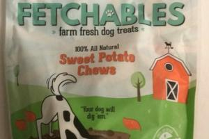 100% ALL NATURAL SWEET POTATO CHEWS DOG TREATS