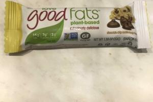 PLANT-BASED CHOCOLATE CHIP COOKIE DOUGH FLAVOR SNACK BAR