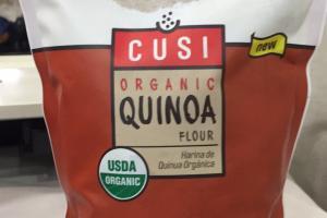 Organic Quinoa Flour; Organic Quinoa + Oat Pancake Mix With Cinnamon
