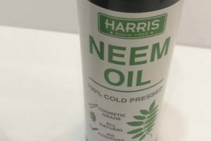 100% COLD PRESSED NEEM OIL