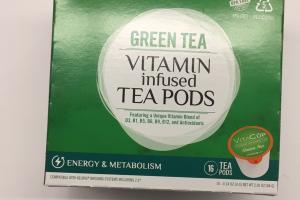 Green Tea Vitamin Infused Tea Pods