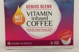 Genius Blend Vitamin Infused Coffee