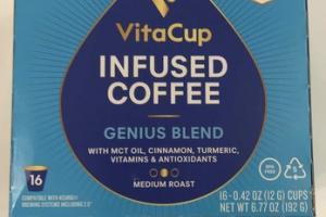 MEDIUM ROAST INFUSED GENIUS BLEND COFFEE