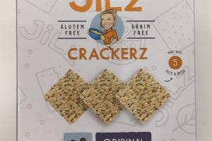 Sea Salt & Cracked Pepper Crackerz