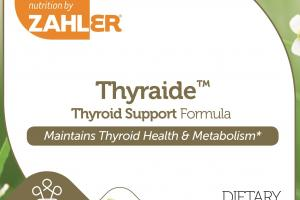 Thyroid Support Formula Capsules Dietary Supplement